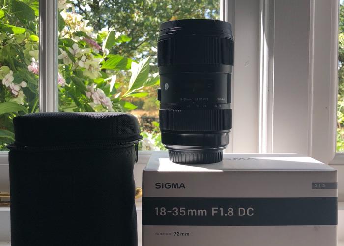 SIGMA 18-35mm F1.8 ART (CANON FIT) - 1