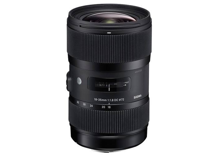 Sigma 18-35mm F1.8 DC HSM | A - Canon Fit - 1