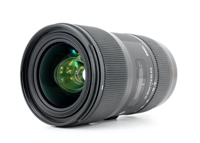 Sigma 18-35mm f/1.8 DC HSM ART, Canon EF-S Fit - 1