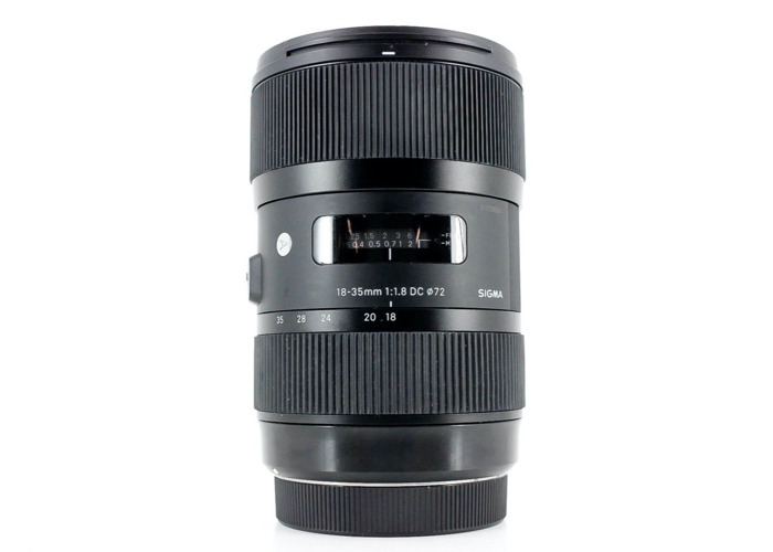 Sigma 18-35mm f/1.8 DC HSM ART, Canon EF-S Fit - 2