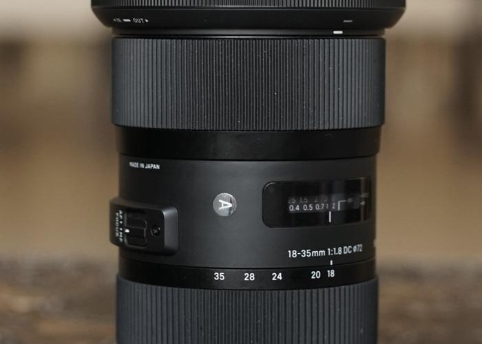 Sigma 18-35mm F1.8 DC HSM Art Lens - 1
