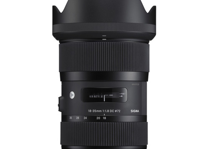 Sigma 18-35mm f/1.8 DC HSM Art Lens for Canon  FAVORITE - 1