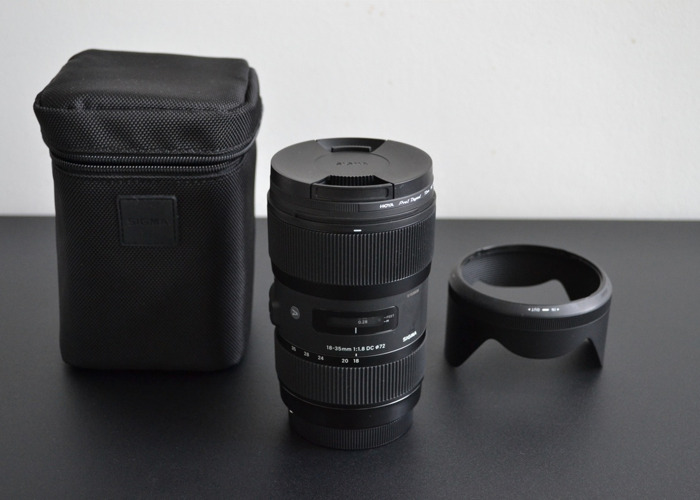 Sigma 18-35mm F1.8 DC HSM Lens - Canon EF Mount - 1