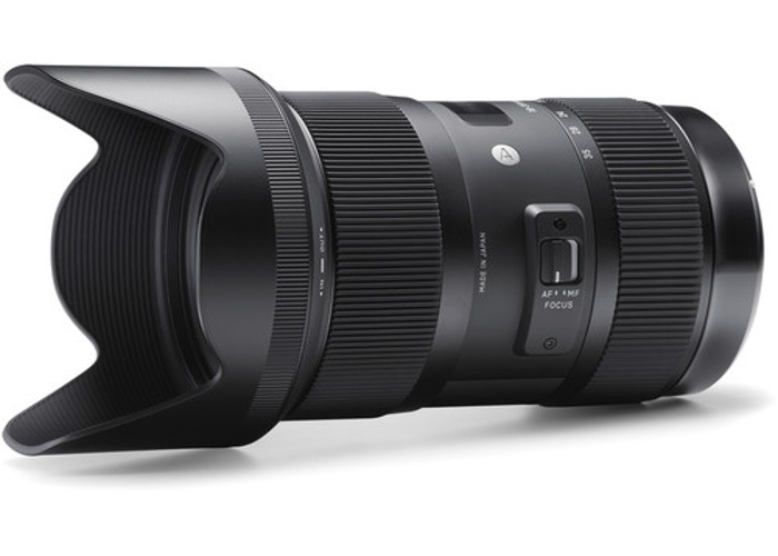 Sigma 18-35mm f/1.8 DC HSM Lens (Canon EF Mount) - 2