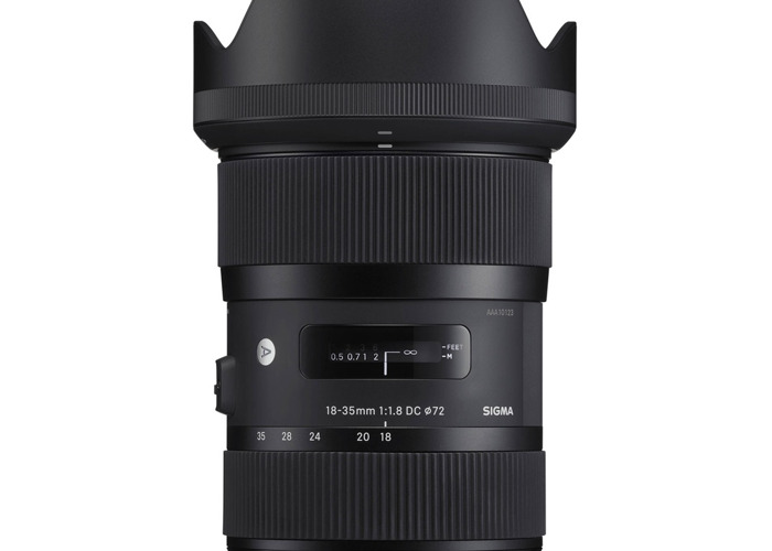 Sigma 18-35mm F1.8 DC HSM Lens for Canon/Sony - 1