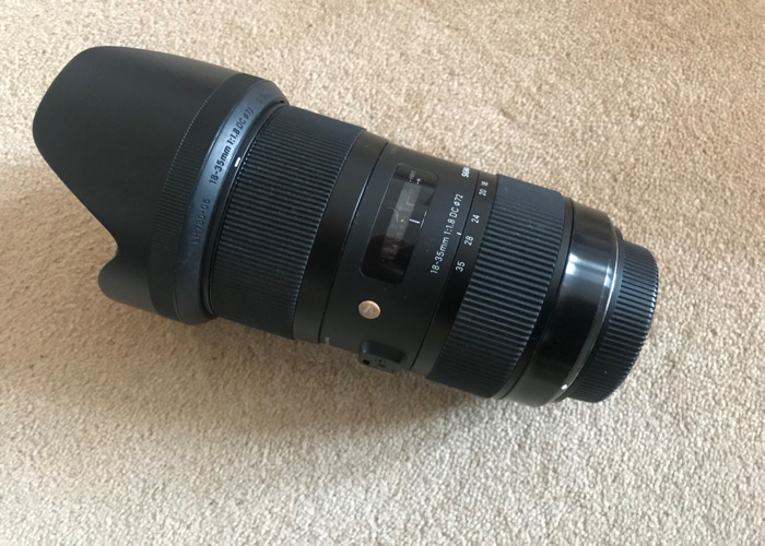 Sigma 18-35mm f/1.8 EF mount lens - 1