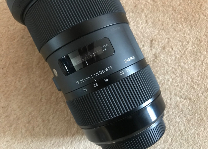Sigma 18-35mm f/1.8 EF mount lens - 2