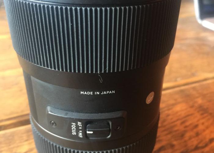 Sigma 18-35mm Nikon F mount - 2