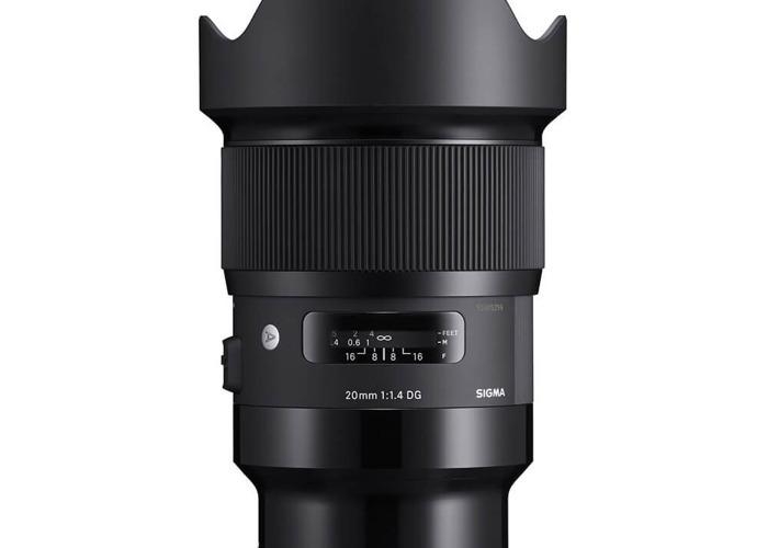 Sigma 20mm f1.4 Art Lens Canon Mount - 2