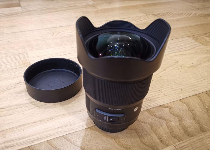 Sigma 20mm f1.4 Art Lens Canon Mount - 1