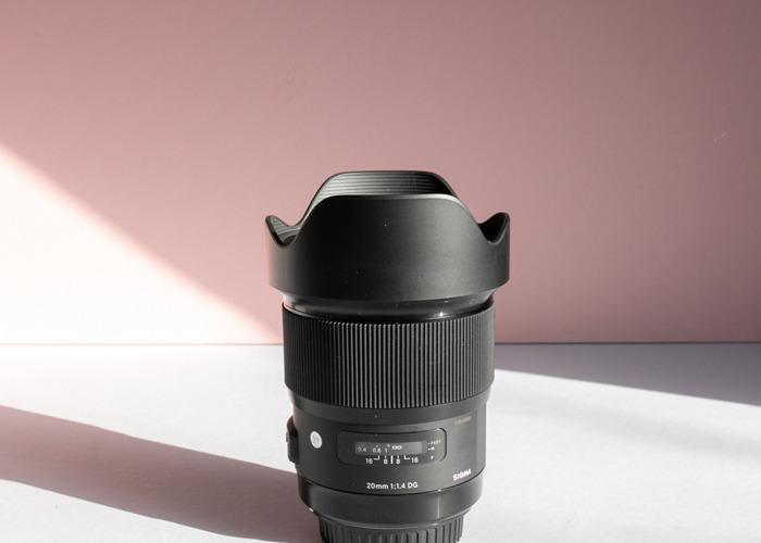 Sigma 20mm f/1.4 DG HSM Art Canon Fit - 2
