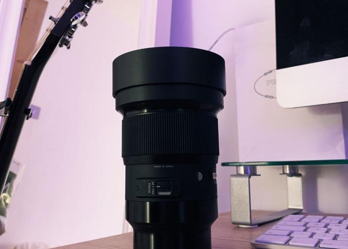 Sigma 20mm f1.4 DG HSM Sony E Mount Lens - 2