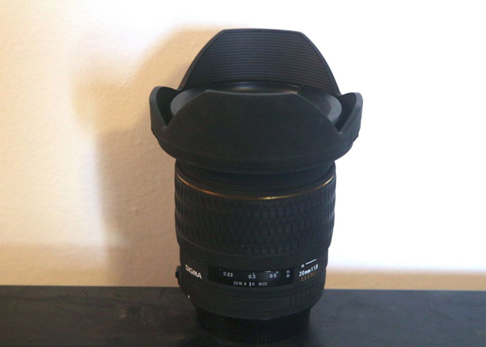 Sigma 20mm f/1.8 Lens Canon mount - 1