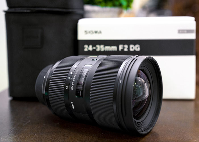 Sigma 24-35mm f/2 Art Lens (Canon Fit) - 1