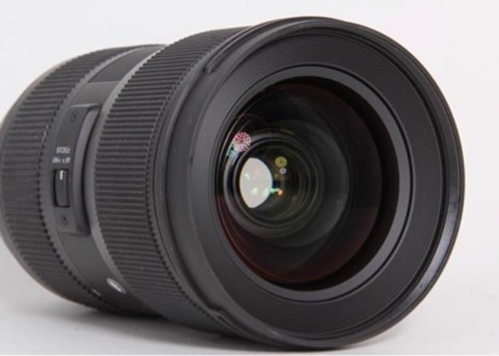 Sigma 24-35mm f2 Canon Fit  - 2