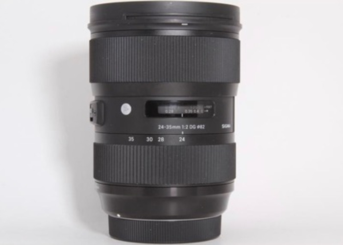 Sigma 24-35mm f2 Canon Fit  - 1