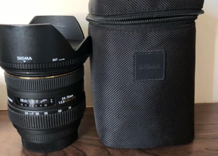 Sigma 24-70mm f2.8 Lens - 1