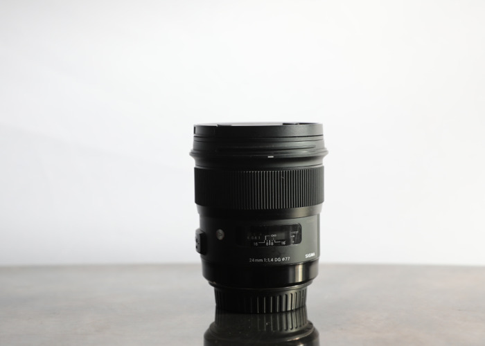 Sigma 24mm 1.4 Art Lens for Canon - 1