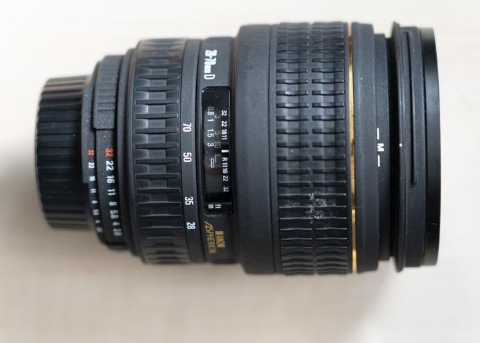 Sigma 28-70mm f2.8 Nikon fit - 1