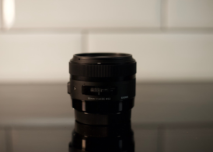Sigma 30mm f/1.4 DC HSM Fit Lens for Canon - 1