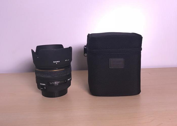 Sigma 30mm f/1.4 EX DC HSM EF Mount Prime Lens - 1