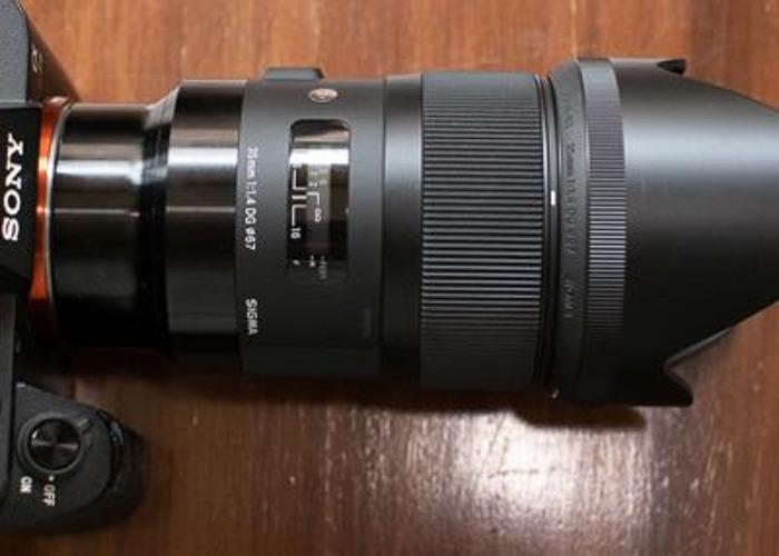 Sigma 35mm 1.4 Art - Sony EF fit - 1
