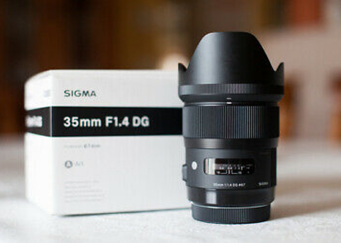 Sigma 35mm Art for Sony E Mount  - 1