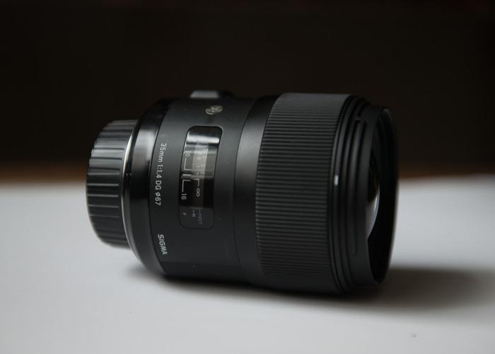 Sigma 35mm F1.4  art lens, Nikon mount - 2