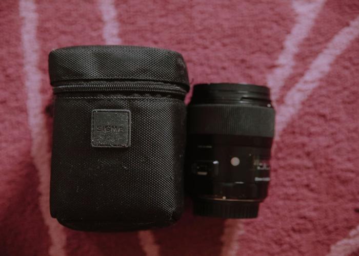 Sigma 35mm F1.4 ART DG HSM Lens for Canon - 2