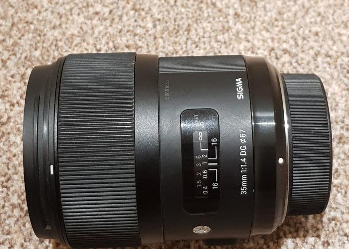 Sigma 35mm f/1.4 ART Nikon KINGS CROSS - 2