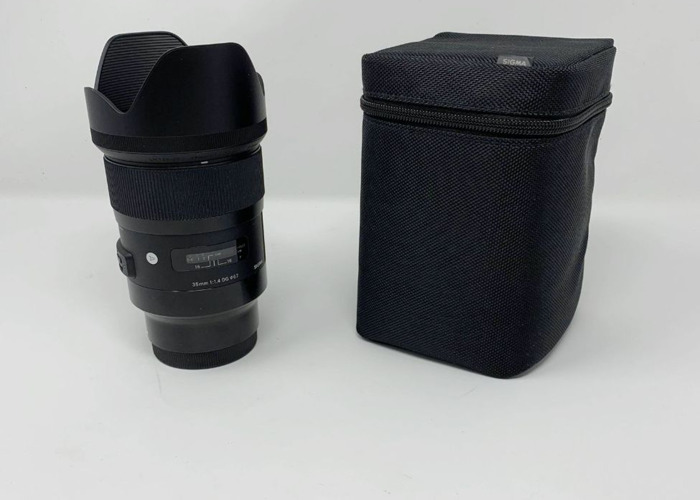 Sigma 35mm f/1.4 DG HSM ART - Sony FE - 2