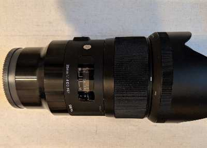 Sigma 35mm f1.4 DG HSM art lens - sony e fit  - 1