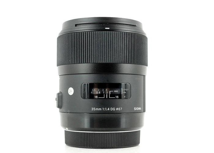 Sigma 35mm F1.4 DG HSM Lens for Canon - 1