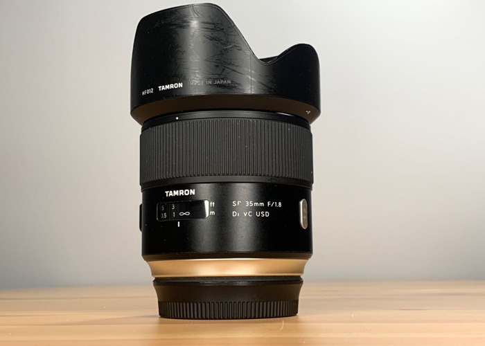 35mm Prime f1.8 Canon EF Mount - 1