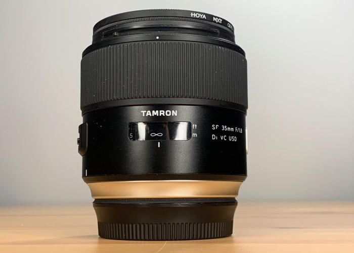 35mm Prime f1.8 Canon EF Mount - 2