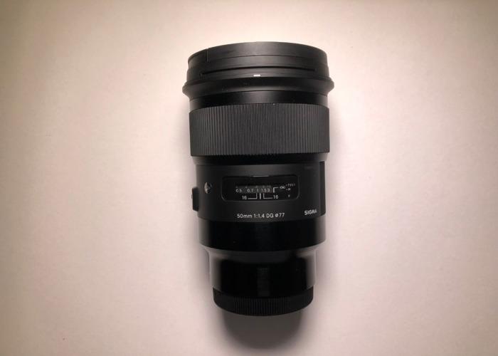 Sigma 50mm f1.4  (E-Mount) - Sony  - 1