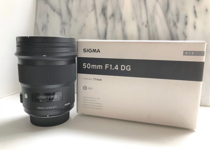 Sigma 50mm f/1.4 DG HSM ART - Nikon Mount  - 1