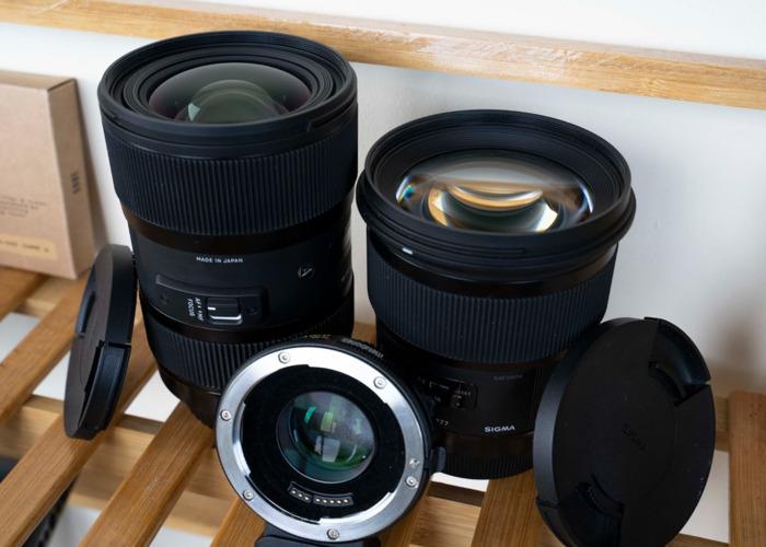 Sigma 50mm F1.4 DG HSM Art Lens - EF Mount - 1