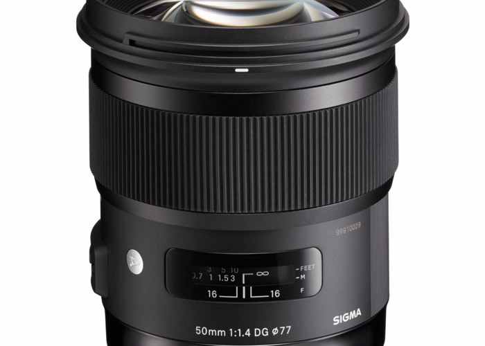 Sigma 50mm f/1.4 DG HSM Art Lens - 1