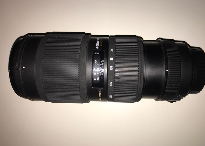 Sigma 70-200mm f/2.8 lens - Canon mount - 2