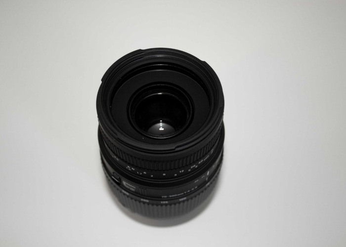 SIGMA 70-300 mm f/4-5.6 DG Macro Zoom Lens - for Nikon - 2