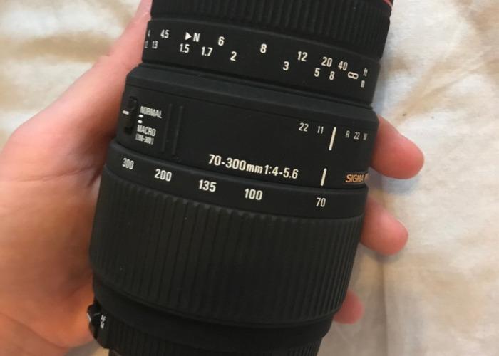 Sigma 70-300mm APO DG  Macro Nikon - 1