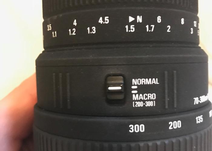 Sigma 70-300mm APO DG  Macro Nikon - 2