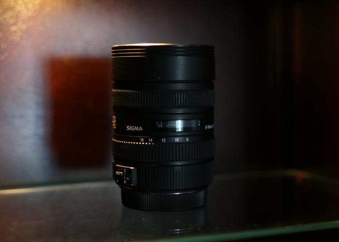 Sigma 8-16mm f/4.5-5.6 (CANON) - 1