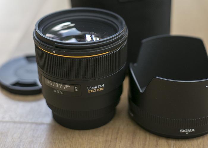Sigma 85mm DG HSM 1.4 Portrait lens - 2