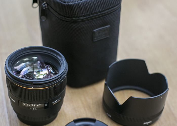 Sigma 85mm DG HSM 1.4 Portrait lens - 1