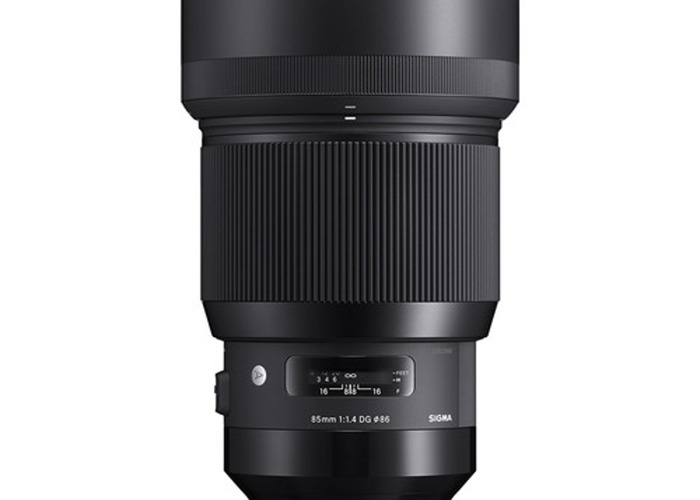 Sigma 85mm f/1.4 DG HSM Art Lens (E-mount) - 2