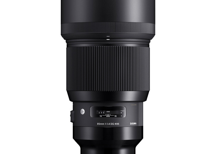 Sigma 85mm f/1.4 DG HSM Art Lens (E-mount) - 1