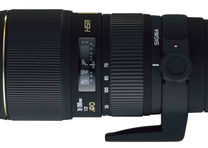 Sigma APO f2.8 70-200mm Lens + Hood - Pentax Kaf mount - 1