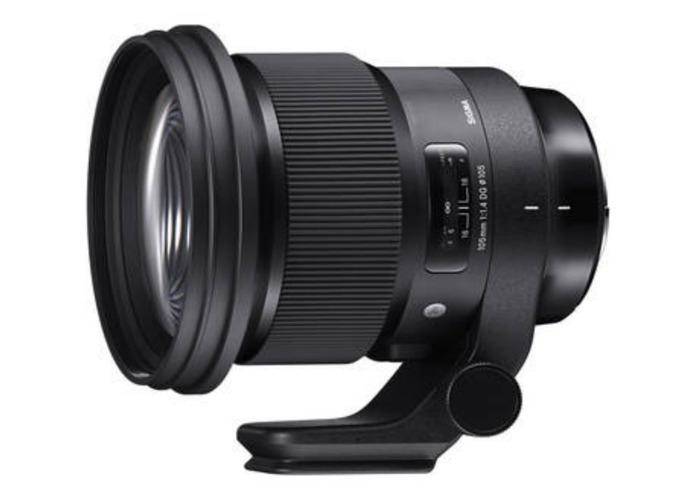Sigma Art 105mm F1.4 Lens for Canon DSLR's - 1